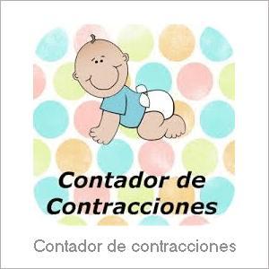 Las mejores Apps Android - Embarazo - Contador de contracciones