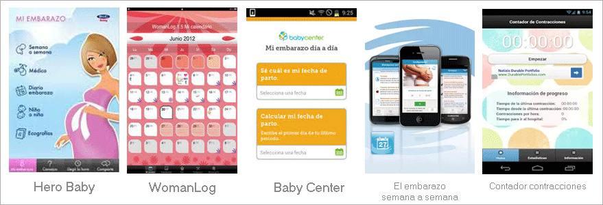 Resumen de mejores apps android embarazo