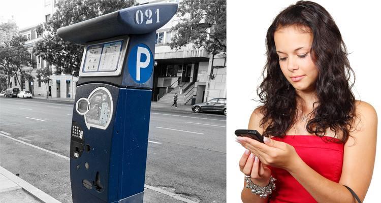 Pagar la zona azul con el móvil