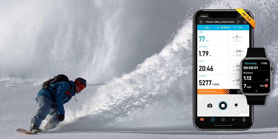 Aplicaciones de móvil para ir a esquiar
