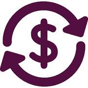 Símbolo dólar conversor cambio de moneda